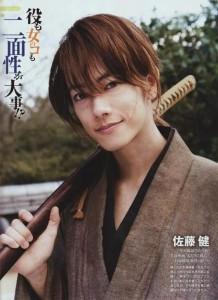 Live Action Kenshin played by Takeru Satoh