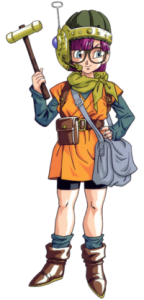 Lucca from Chrono Trigger by Akira Toriyama,