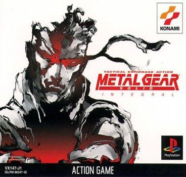 Metal Gear Solid Integral - Konami