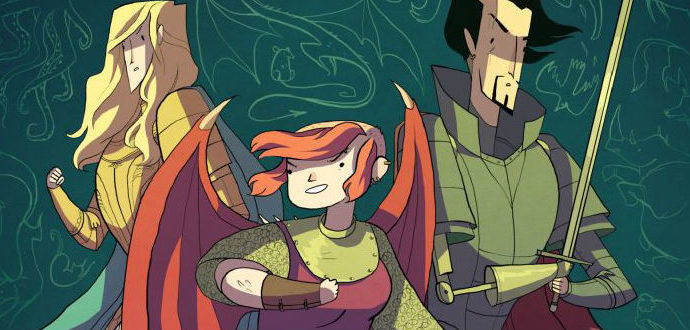 Knit Your Comics #1: Arm (Hoof) Knit Nimona-inspired Scarf.