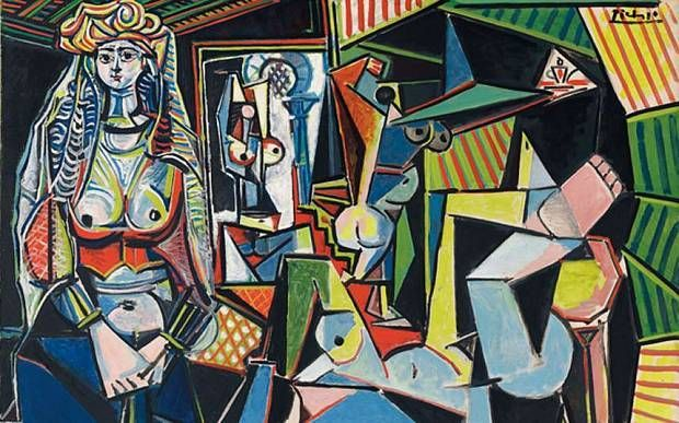 "Pablo Picasso's ""Women of Algiers (Version O)"" 1954-55."