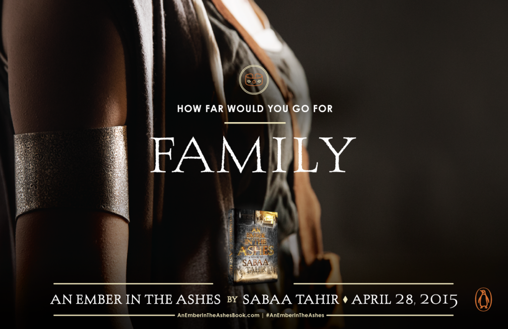 Penguin - An Ember in the Ashes Promotional Poster (Family / Laia)
