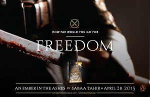 Penguin - An Ember in the Ashes promotional material (Freedom / Elias)