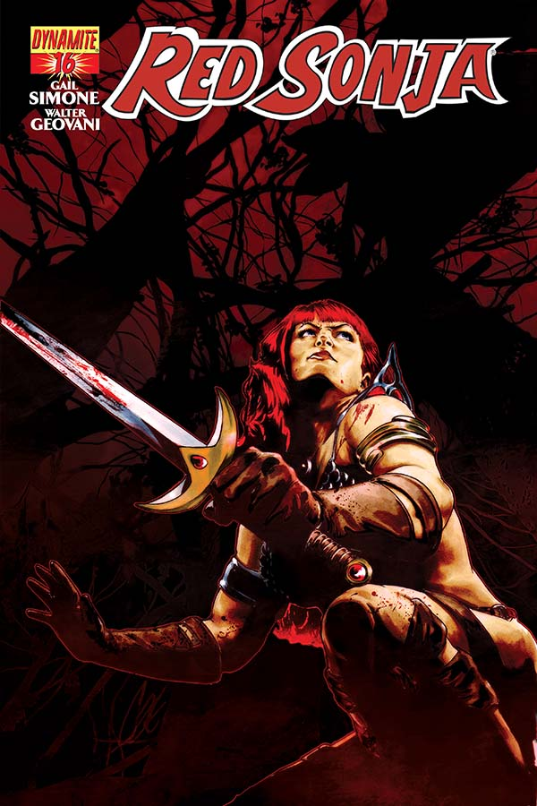 Red Sonja 16, cover by Cat Staggs, Dynamite 2015