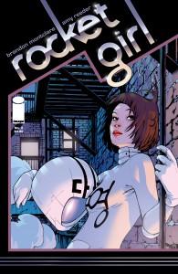 Rocket Girl by Brandon Montclare & Amy Reeder (Image Comics)