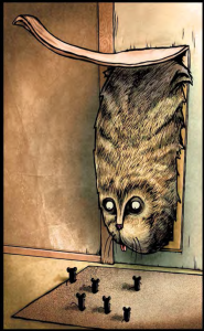 The Cat With the Really Big Head | Titan Comics | Creator Roman Dirge