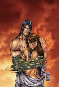Cover art to Witchblade #20 by Michael Turner | Inks D-Tron Sean Parsons Joe Weems