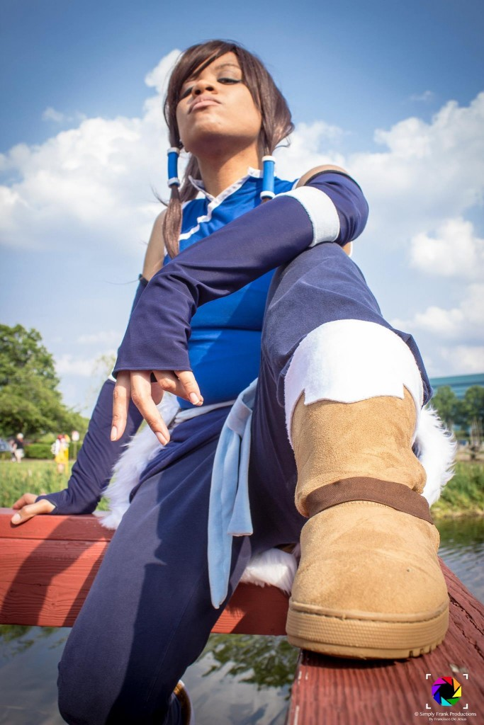 Madi cosplays Korra from Nickelodeon's Legend of Korra at AnimeNEXT. Photo by Simply Frank Productions.
