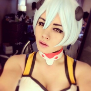 Hanahmiya as Rei from Evangelion