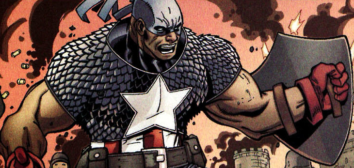 TRUTH: Red, White & Black – The Story of the First Captain America