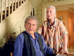 2002 Spider-Man. Film. Directed by Sam Raimi. Cliff Robertson as Uncle Ben. Rosemary Harris as Aunt May.