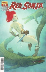 Red Sonja 7_cover by Jenny Frison_Dynamite 2014