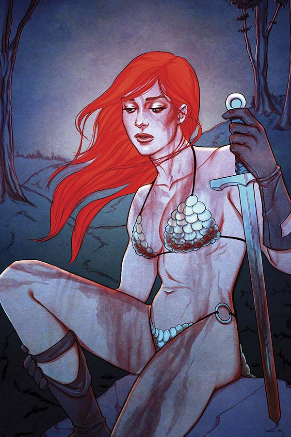 Red Sonja 15_virgin cover by Jenny Frison_Dynamite 2015