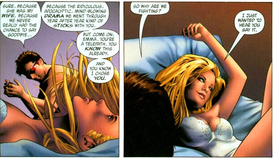 Cyclops and emma frost affair