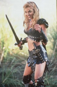 Hudson Leick as Callisto in Xena: Warrior Princess