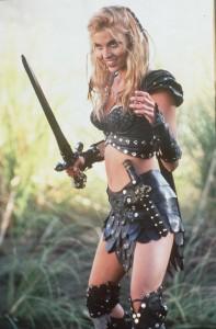 Hudson Leick as Callisto in Xena: Warrior Princess