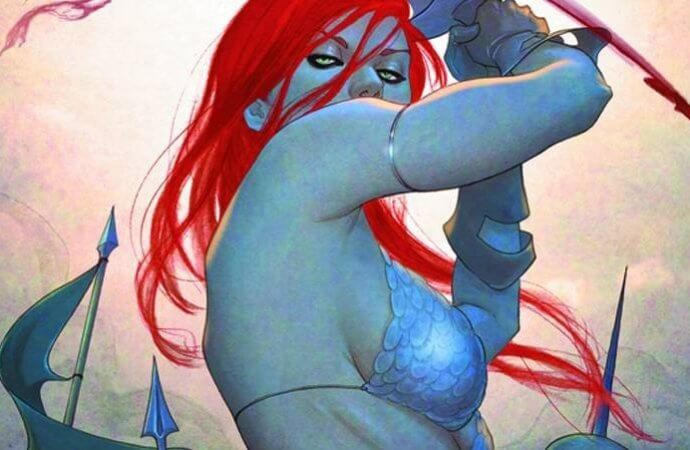 """An Example of Great Side Boob"": The Cover Art of Jenny Frison"