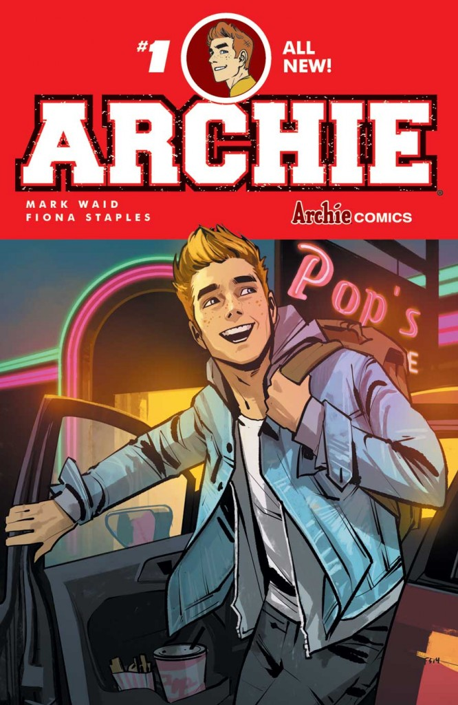 Archie #1 Waid and Staples, 2015