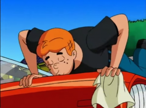 Archie's Weird Mysteries. Episode 2. Driven to Distraction. 1999.