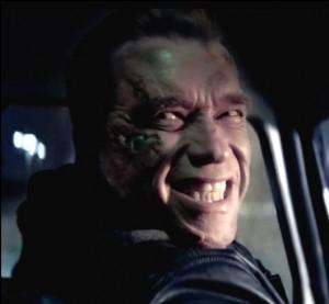 Arnold Schwarzenegger in Terminator: Gensisys