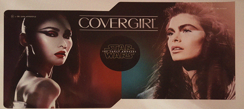 Covergirl to launch star wars