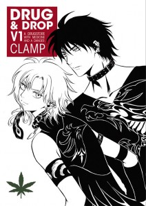 Drug and Drop v1 cover - Dark Horse - CLAMP