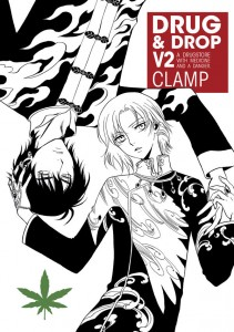 Drug and Drop v2 cover - Dark Horse - CLAMP