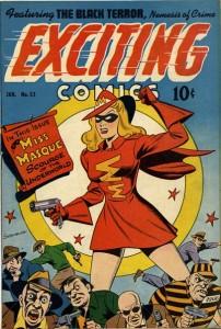 Exciting Comics, Miss Masque,