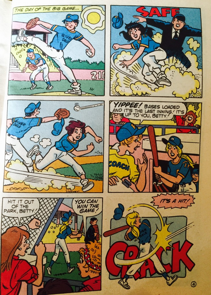 Betty Cooper baseball