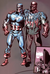 Truth: Red, White & Black #1-7 Writer(s) Robert Morales (writer), Kyle Baker (penciller, inker, colorist), Wes Abbott (letters), Axel Alonso and John Miesegaes (editors) Marvel Comics (January to June 2003)