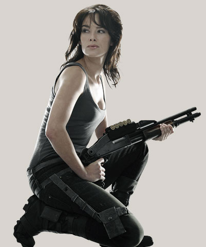 Lena Headey as Sarah Connor in Terminator: The Sarah Connor Chronicles