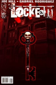 Locke & Key Volume 1 cover, writer Joe Hill, artist Gabriel Rodriguez, publisher IDW
