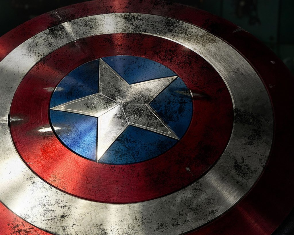 Captain America MCU shield