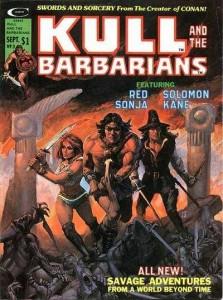 Kull & the Barbarians #3, Marvel, 1975