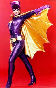 Yvonne Craig as Batgirl in the Batman television series