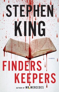 Finders Keepers, Stephen Kind, Scribner, 2015