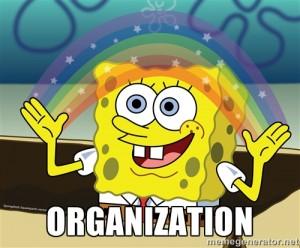 Spongebob Squarepants Organization Meme