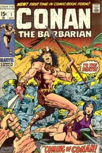 Conan the Barbarian #1, written by Roy Thomas and drawn by Barry Windsor-Smith, Marvel 1970