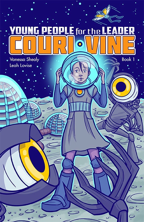 Couri Vine cover, Leah Lovise and Vanessa Shealy