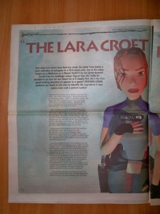 Victoria Coren on Lara Croft, The Times, 1999