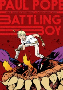Battling Boy cover, creator Paul Pope