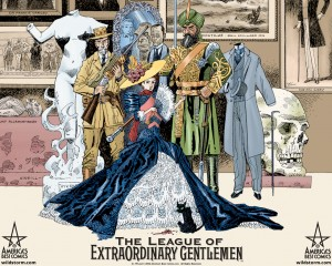 League of Extraordinary Gentlemen Cover, wrter Alan Moore, artist Kevin O'Neill, publisher America's Best Comics