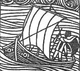 Lookfar - Ursula K LeGuin, A Wizard of Earthsea - Illustration by Ruth Robbins
