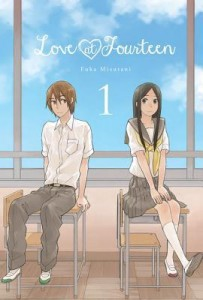 Love at Fourteen Volume 1 Fuka Mizutani 2014 Yen Press