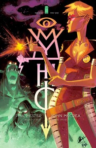 mythic cover, image may 2015, phil hester, john mccrea