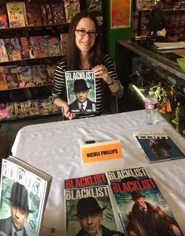 The Blacklist in Print: An interview with Writer Nicole Phillips on Blacklist Comics