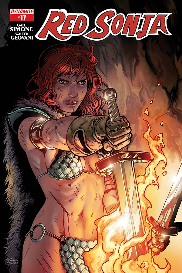 Review: Red Sonja #17 – An Almost Goodbye to Simone
