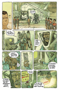 Habitat, Simon Roy, Island #2, August 2015, Image Comics