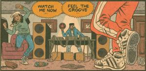 Hip Hop Family Tree Vol 1. Ed Piskor. Fantagraphics.