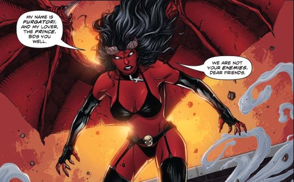 Swords of Sorrow #4 Writer: Gail Simone Art: Sergio Davila | Dynamite Comics August 2015